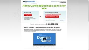 allyoucanreadbusiness.com