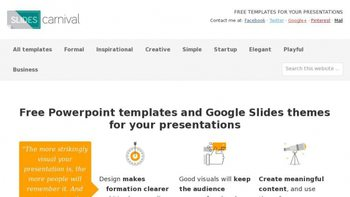 slidescarnival com seo issues traffic and optimization tips for