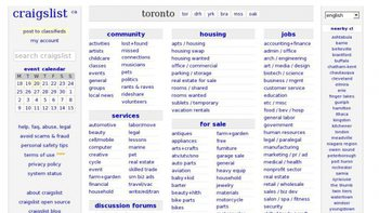 Craigslist ca SEO Issues, Traffic and Optimization Tips for