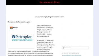 recrutamentoafrica.com