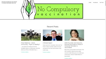 nocompulsoryvaccination.com
