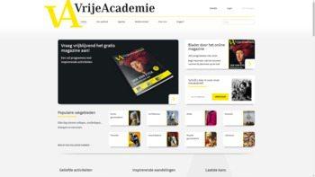 vrijeacademie.nl