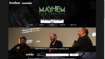 mayhemfilmfestival.com