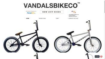 vandalsbikeco.com