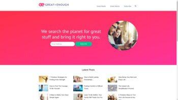 greatisenough.com