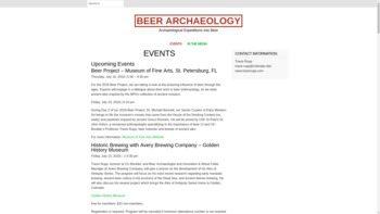 beerarchaeology.com