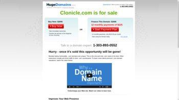 clonicle.com
