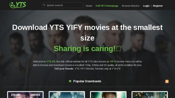 yts browse movie official website