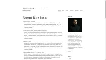 adamcaudill.com