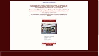 romulusrestaurant.co.uk