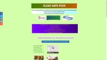 cleansafefood.org
