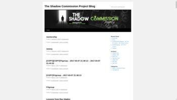 shadowcommissionproject.com