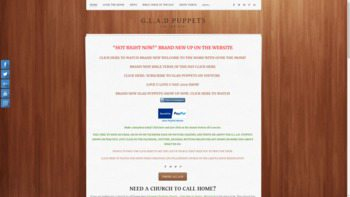gladpuppets.com